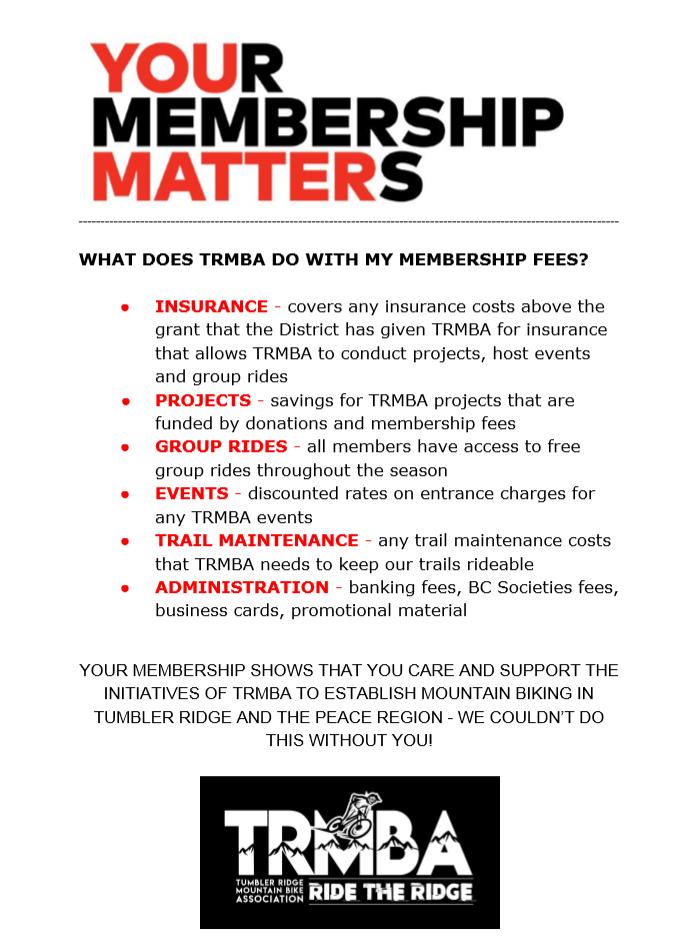 TRMBA Membership